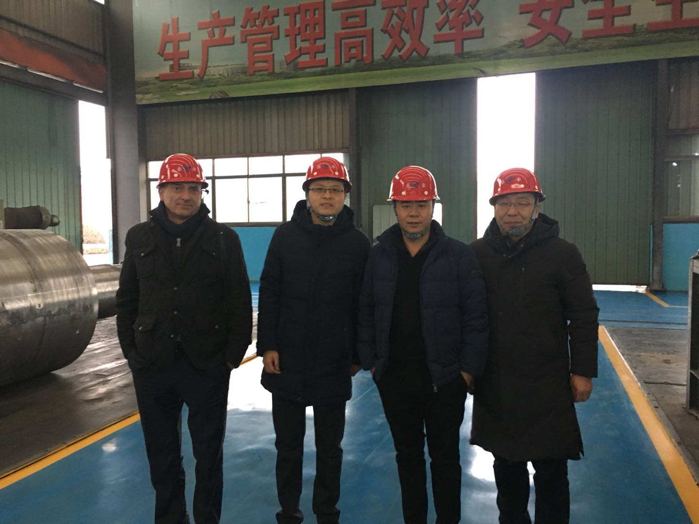 CZECH REPUBLIC CUSTOMERS VISITED OUR ROLL FACTORY